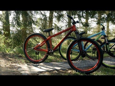 Test: Dartmoor Dirt Jump Bikes: Gamer26 / Basic und Two6Player / Pro - Einsteiger und Profi MTB