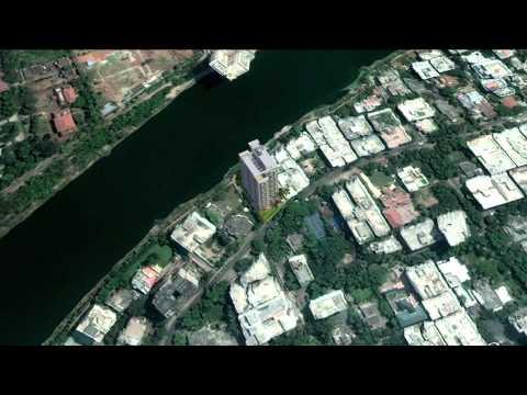 3d building on google map through studio max