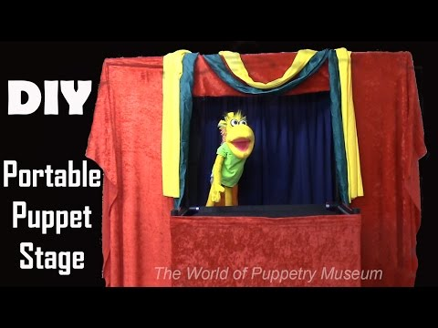 How To Build a Portable Puppet Stage