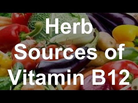 Herb Sources of Vitamin B12 - Foods With Vitamin B12
