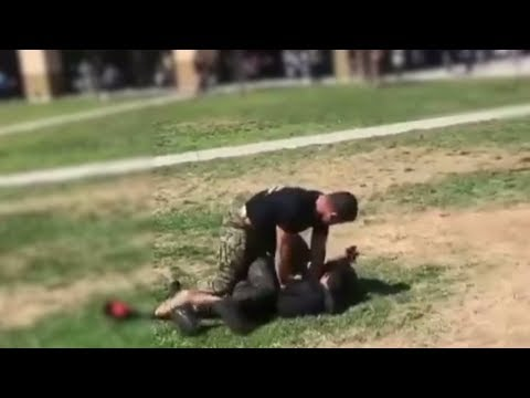 Xxx Mp4 Marine Tackles High School Students During Brawl 3gp Sex