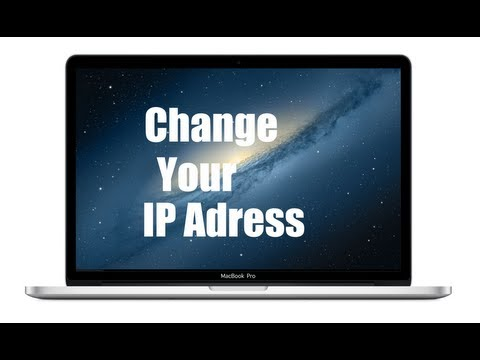  How to change your IP address on Mac 