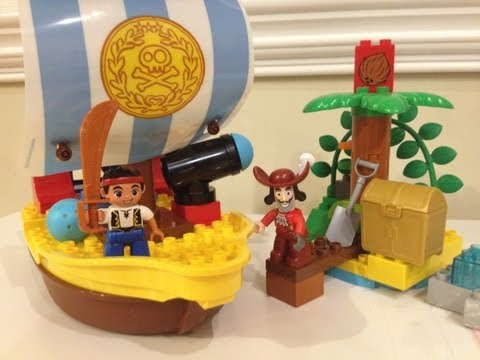 JAKE AND THE NEVER LAND PIRATES Lego Duplo Unboxing Set 10514