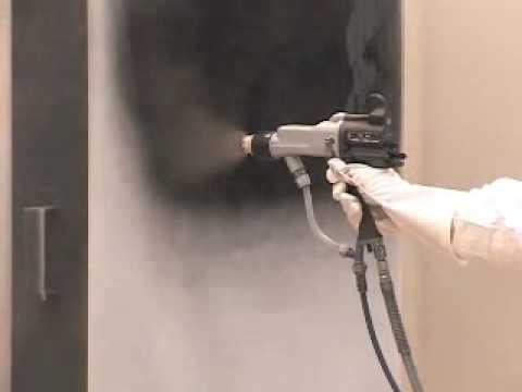 Graco Electrostatic Gun Round Spray Pattern