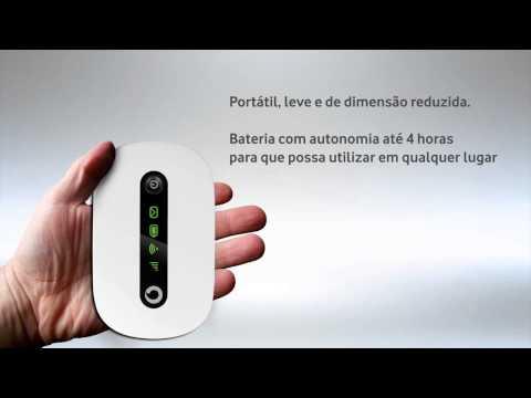 Vodafone Mobile Wi Fi R206 - Apresentação de Equipamento