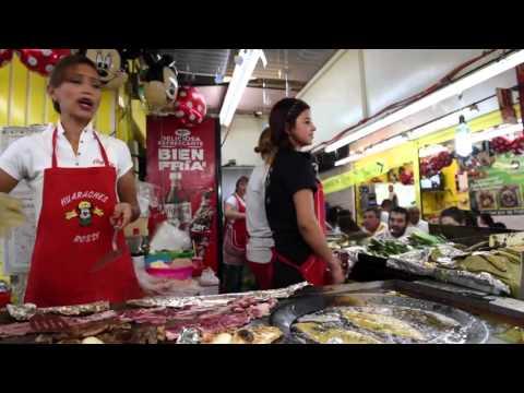 Culinary Backstreets Visits: Huaraches Rossy in Mexico City's Mercado Jamaica