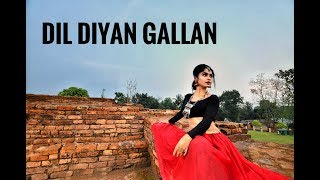 Dil Diyan Gallan | Dance cover by Sadhwi