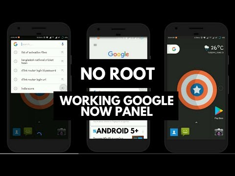 Pixel Launcher For All (No root) Working Google Now panel