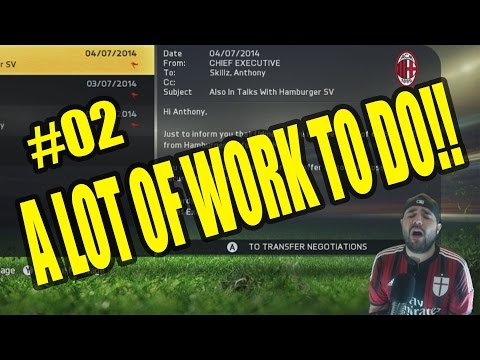 FIFA 15 CAREER MODE AC MILAN DAY 1 WITH THE NEW CLUB!! #02