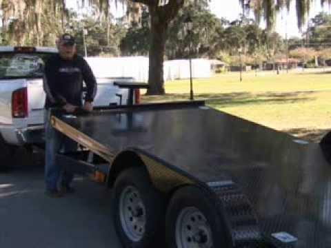 Tilt Trailers for hauling cars