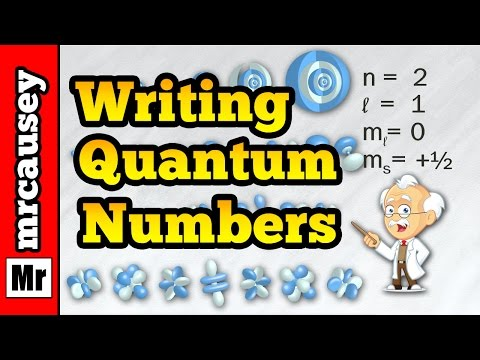 How to Write Quantum Numbers for Electrons