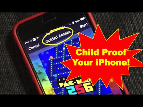 How To Use Guided Access For iPhone Parental Control