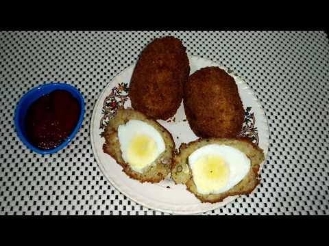 Easy Potato Egg Snack || Egg Kabab || Aloo Egg Kabab || Quick & Easy Recipe by Punjabi Cooking