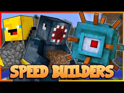 SPEED BUILDERS! NEW! Mineplex Mini Game! W/AshDubh