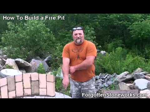 How To Build A Fire Pit: Part 2