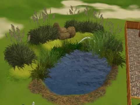 Sims 3 Pond tutorial