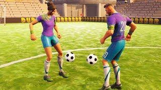 FOOTBALL PLAYER LOVE STORY | Fortnite Short Film