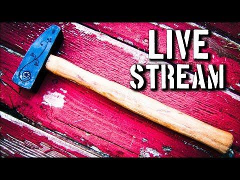 LIVE: Forging a Cross Pein Hammer for Chandler Dickinson