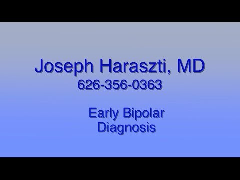 Early Detection of Bipolar