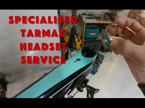 Specialized Sworks Tarmac Headset Removal, Service and Reassembly