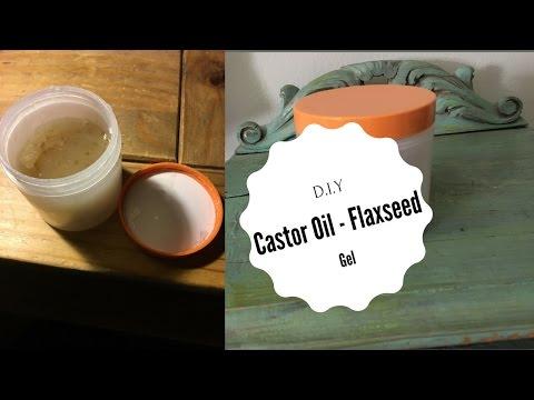 My DIY Home Made Castor Oil & Flaxseed Gel