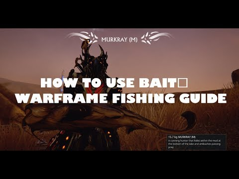 How to Use Bait (How to Catch Rare Fish) in Warframe | Plains of Eidolon Fishing Guide