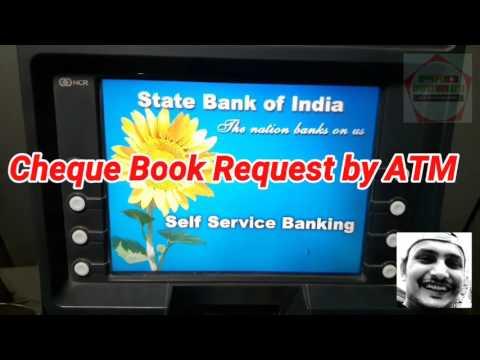 Cheque Book के लिए अवेदन ATM से करना सीखे।New Cheque Book,Request by SBI ATM|SBI Cheque Book Request