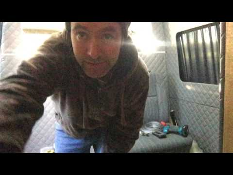 HOW TO SELFBUILD A CAMPERVAN WINDOW FRAME INSTALL