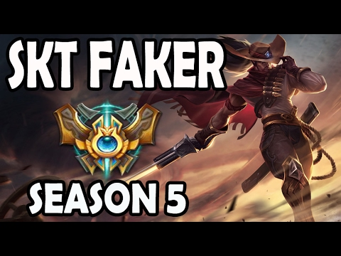 SKT T1 Faker Yasuo vs Akali MID Ranked Diamond EUW