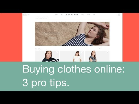 Buying Clothes Online: 3 pro tips.