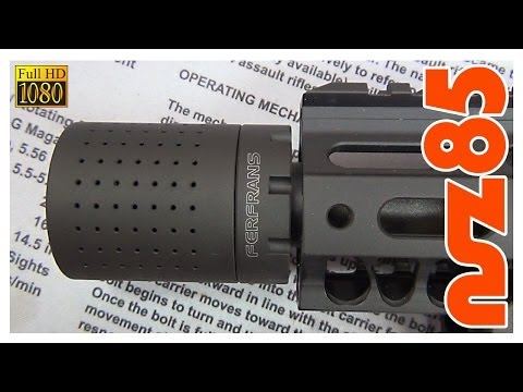 AR-15 - FERFRANS CRD Muzzle Device Installation - PlayItHub Largest