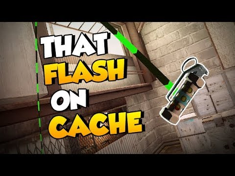 CS:GO Quick Tips - That Flash on Cache *