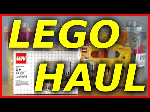 LEGO Store Haul August 2015 with Pick a Brick and Build a Minifigure
