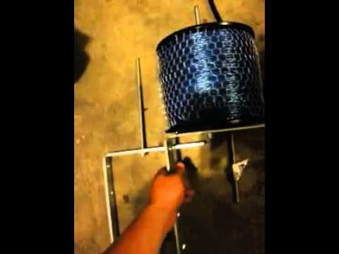 Make your own Trimmer Line Spool Rack