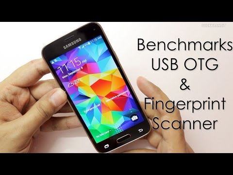 Samsung Galaxy S5 Mini Benchmarks / USB OTG / Fingerprint Scanner