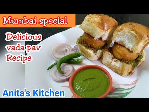 Mumbai street food - vada pav recipe