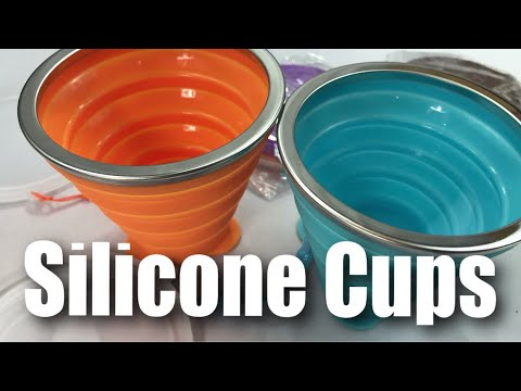 Collapsible Silicone Travel Cup Set (9.2oz) by ME.FAN Review