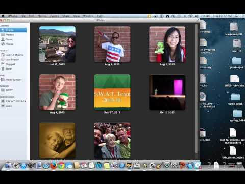 How to get .mp4 files into iMovie