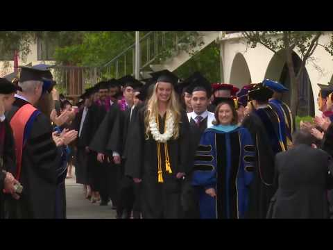 2018 Claremont McKenna College Commencement Ceremony