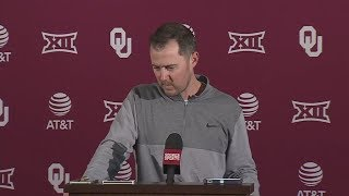 Lincoln Riley gets emotional talking about Baker Mayfield | ESPN