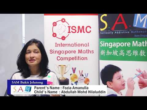 Why learn from SAM Singapore Math?