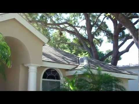 Flat Tile Roof Cleaning Pinellas County Florida 727.483.8177.mp4
