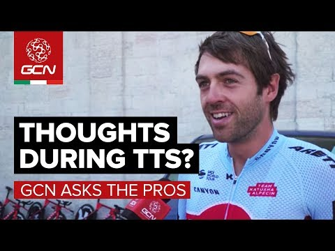What Do You Think About During A Time Trial? | GCN Asks The Pros At The Giro d'Italia