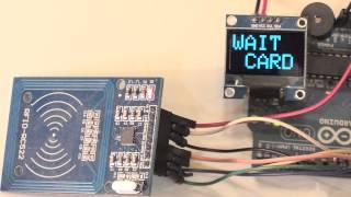 Arduino - Leitor RFID RC522 com LCD I2C - YouTube