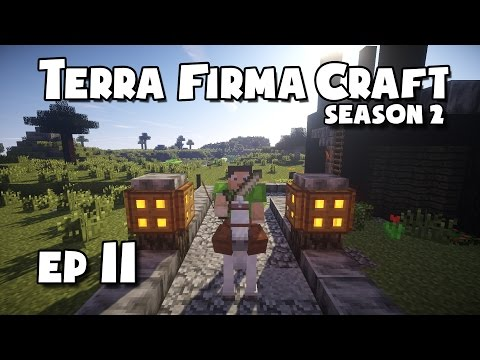 TerraFirmaCraft - S2 #11 - Making Leather + Breeding Wolves
