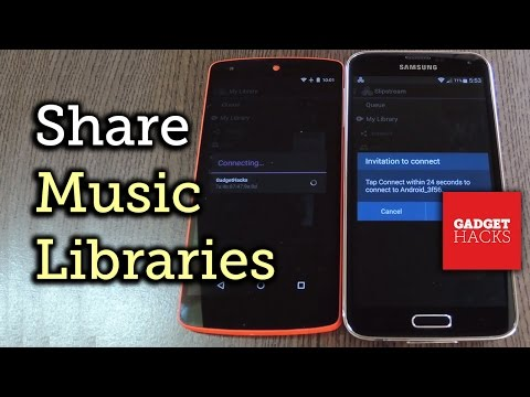 Share Music Libraries with Your Friends on Android [How-To]