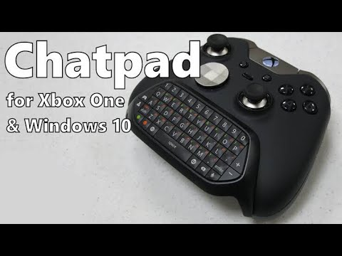 How to connect a chatpad to your Xbox one controller