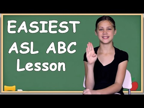 EASIEST way to learn your ASL ABCs   Slowest alphabet lesson