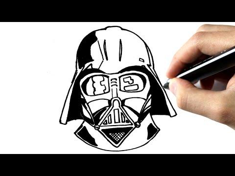 Star Wars Paper Pencil Game Tutorial Star Wars Drawing
