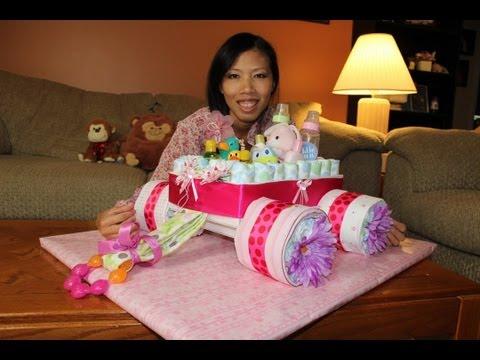Diaper Cake Wagon (How To Make)